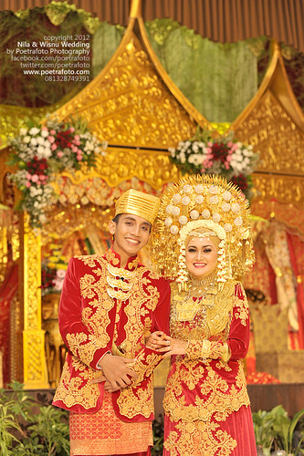 Foto Pernikahan Adat Padang (Minangkabau Wedding Photo) by POETRAFOTO - Wedding Photographer Indonesia