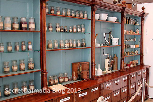 Old farmacy- K. u. K. Marinespital Apotheke