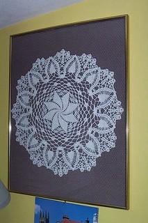 handmade doily by bex