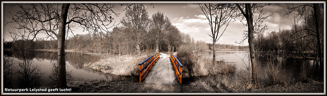 Natuurpark Lelystad geeft lucht! (13-01-2013).