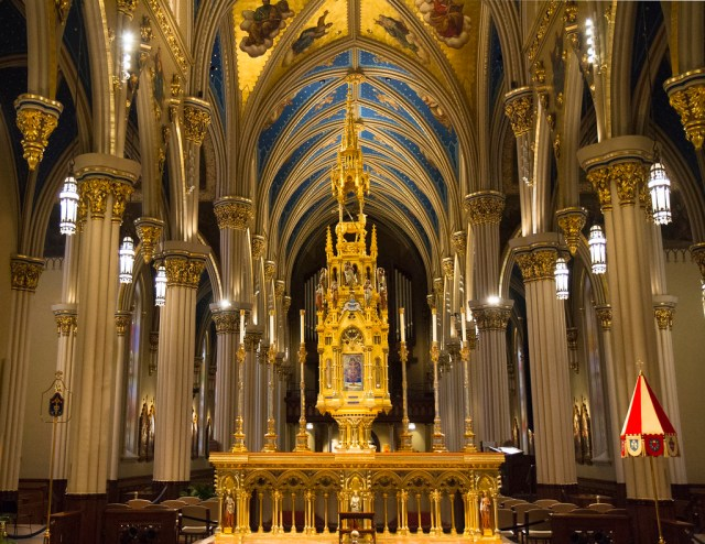 Another view inside the Basilica of the Sacred Heart