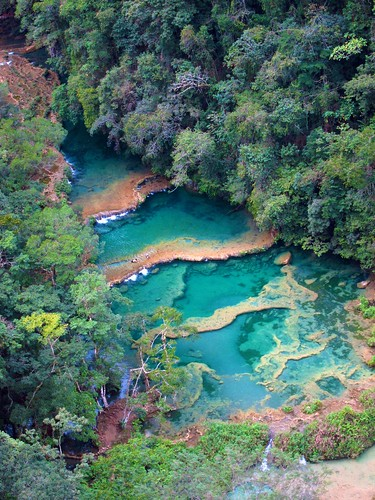 Semuc Champey pools 1