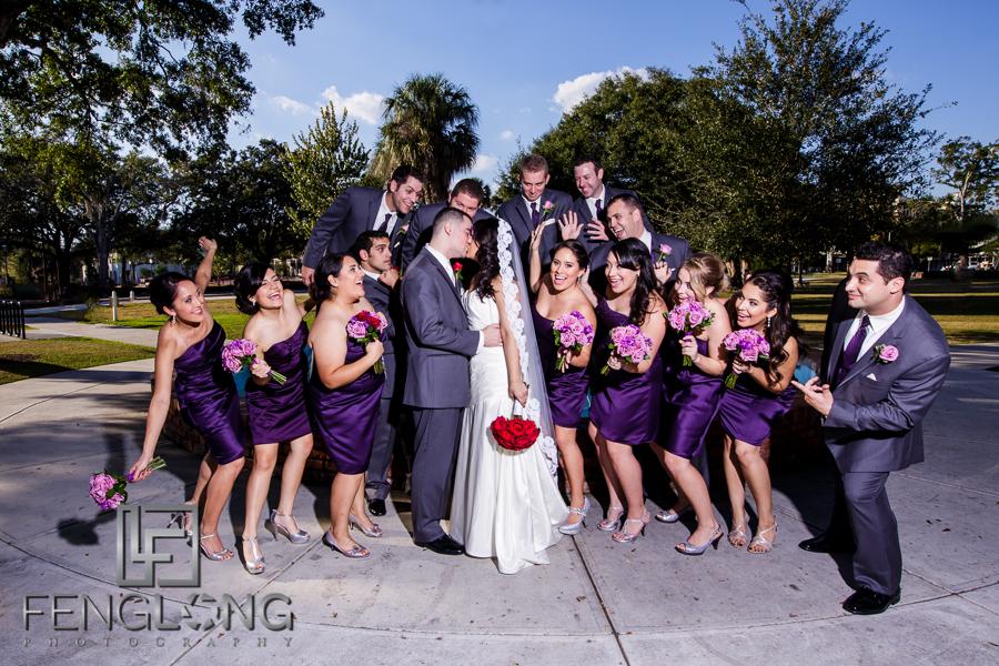 Karina & Ryan's Wedding | St. Margaret Mary Church & Ceviche Tapas | Orlando Destination Wedding Photographer