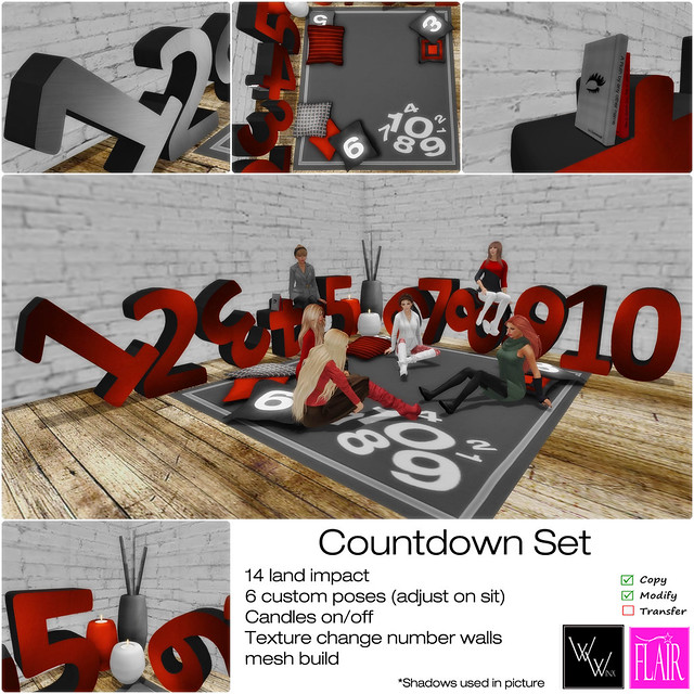 WWinx & Flair - Countdown Set - Ad