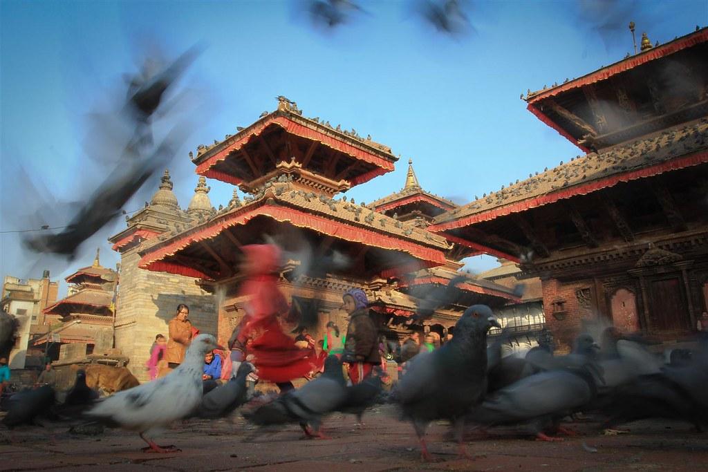 Durbar Square, Kathmandu. A Unesco World Heritage site.