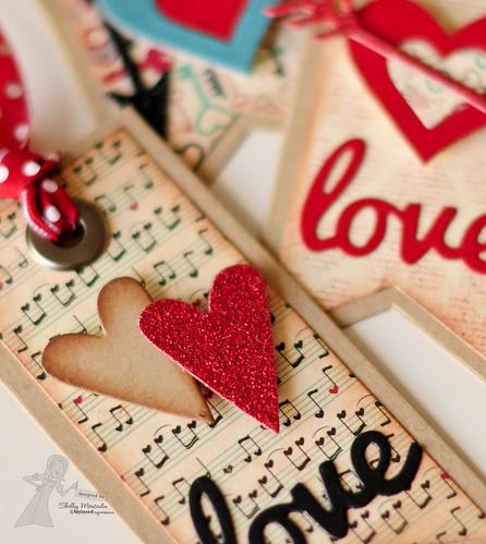TE Cupid's Arrows, Banner Stacklets 1 & Love Tree dies