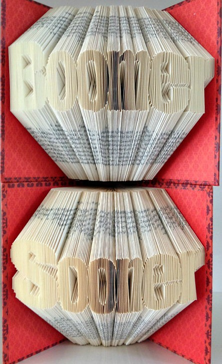 24 Altered Books Folded Books and Paper Sculptures Made