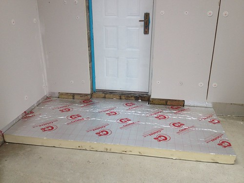 floating floor over concrete slab