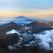Hiking to Summit 3726m of mount Rinjani