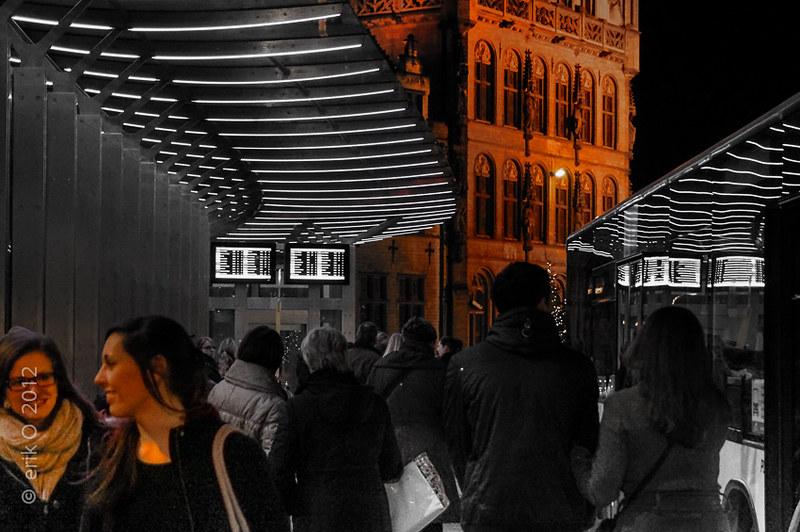Wintertijd in Leuven 2012