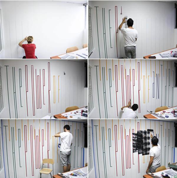 Ideas para decorar con letras las paredes de oficinas