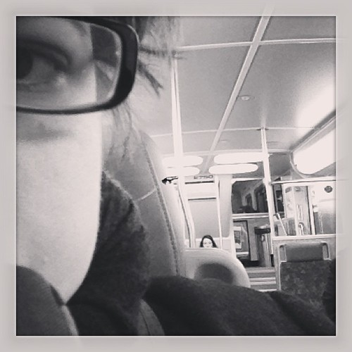 7am - on the train going to work #hourlyphoto  #12photos