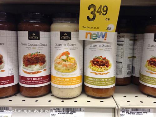 Safeway Select Simmer Sauce