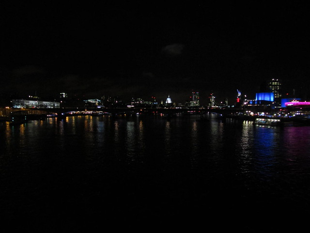 View from Hungerford Bridge
