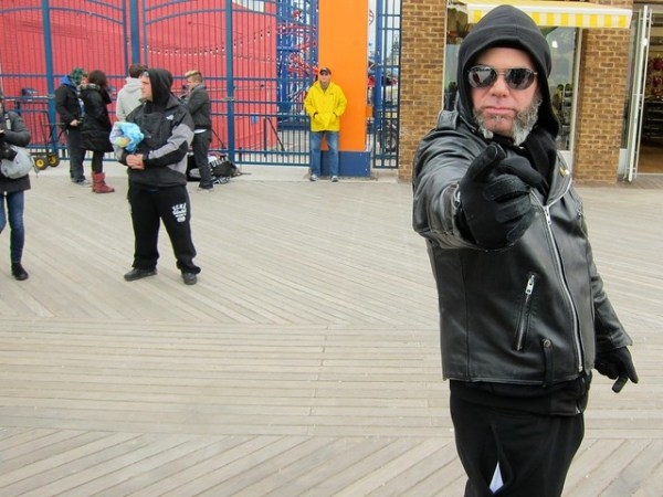 Coney Island Polar Bear Club New Year's Day Swim 2013: Neil Young