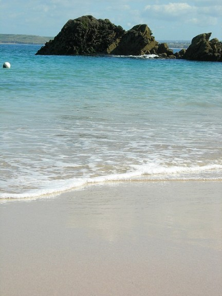 Top UK beaches Porthgwidden Cornwall