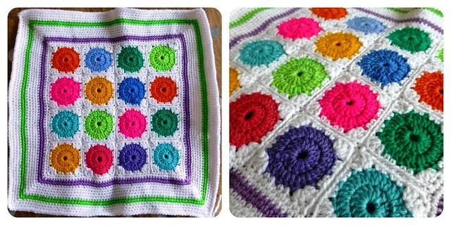 Crochet Cushion Front Jan13