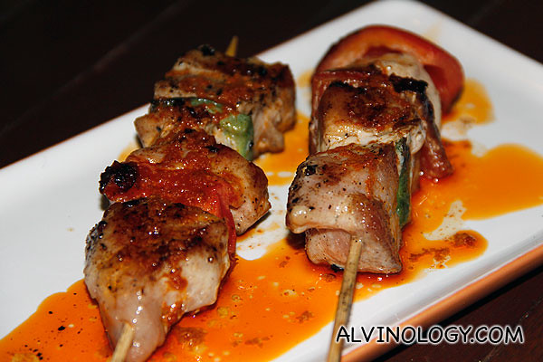 Grilled Pork Marinated with Smoked Paprika