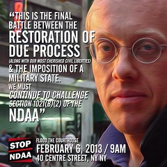 In two weeks civil liberty in America is threatened. Will you stand up for your rights? #stopndaa