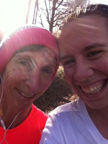 Mom ran 10 miles!