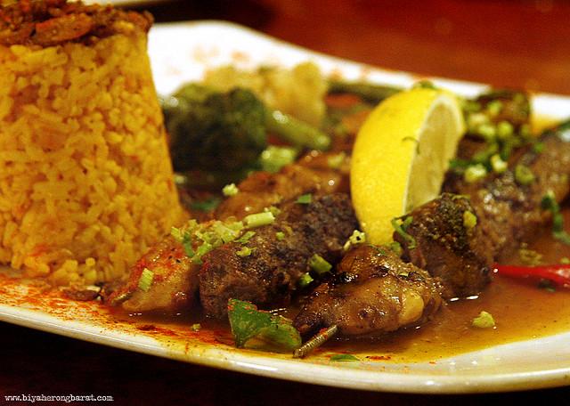Turkish Mixed Tenderloin Kebab in Amirah's Grill Arab Street Singapore