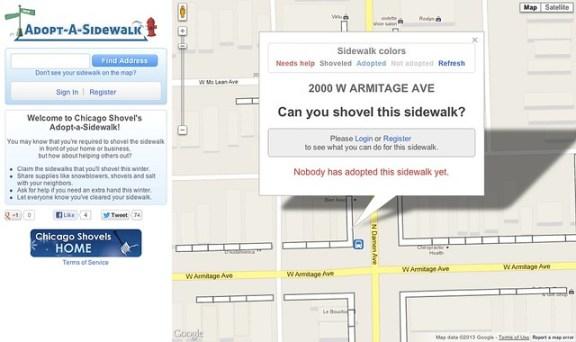 Adopt a Sidewalk