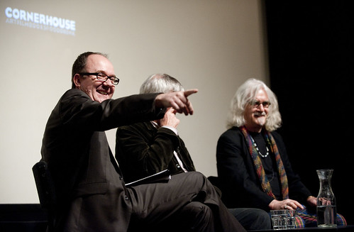 Quartet Q&A - Billy Connolly and Tom Courtenay at Cornerhouse, by Paul Greenwood