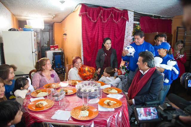 El Vicepresidente Lenn Moreno festej la Navidad junto a nios con discapacidad  Vicepresidencia de la Repblica del Ecuador