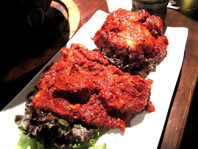 Korean dinner 14
