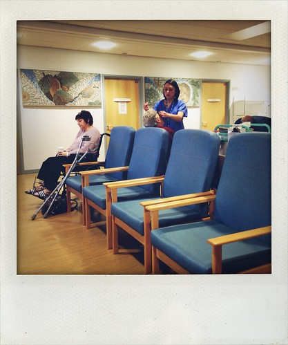 Pre-op waiting room by Fitzrovia
