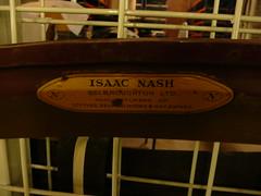Isaac Nash scythe blade