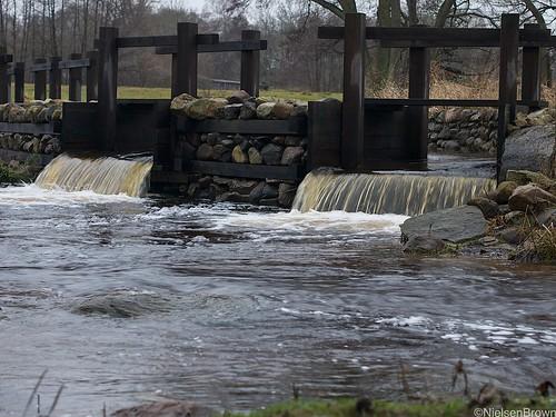 Weir on the Verkaån