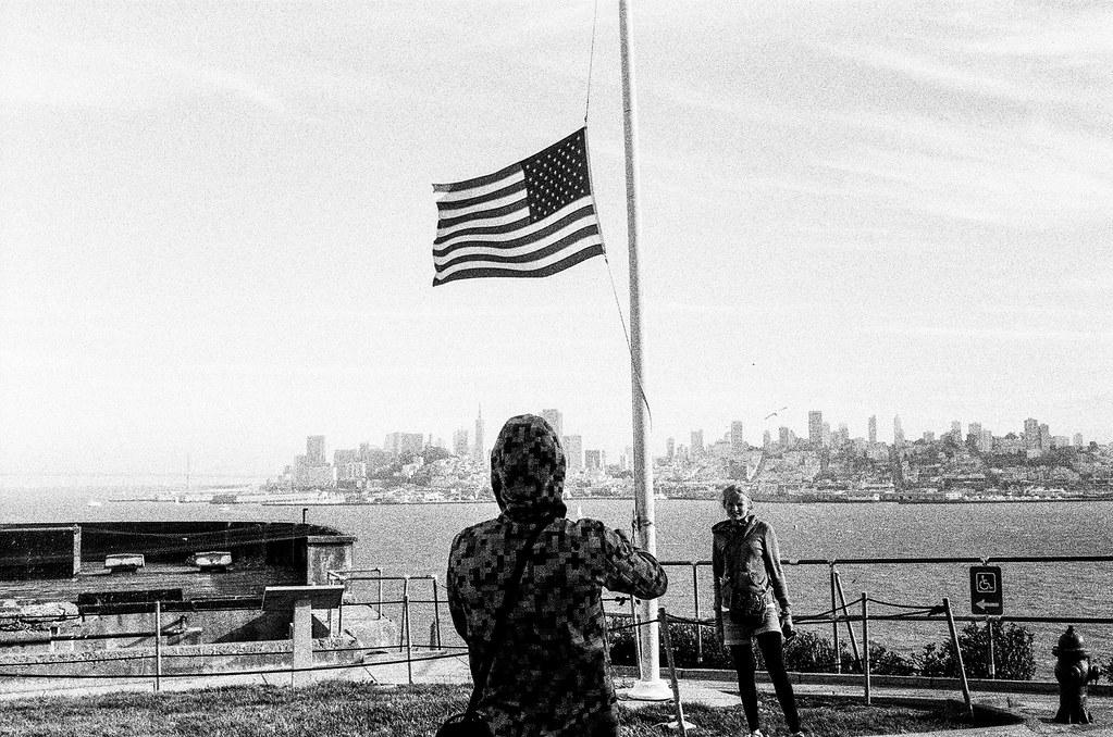 Shooting SF from Alcatraz