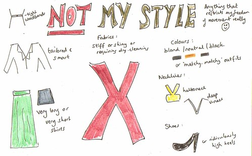 not my style