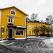 Finland - Porvoo in yellow