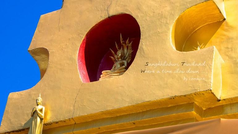 ตะลุยเที่ยว เจดีย์พุทธคยาจำลอง บริเวณรอบ3 - สังขละบุรี