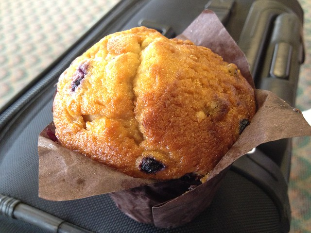 Blueberry muffin - HNL food kiosk