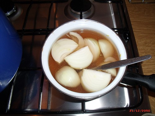 Kartoffelsalat Brühe