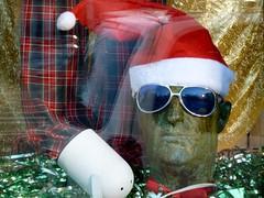 Santa in shades