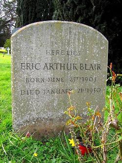 Grave of Eric Arthur Blair aka George Orwell