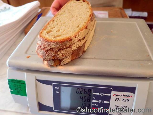 Poilâne- bread €4.58 per kilo