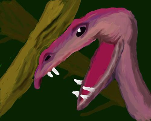Pink Creature - WIP