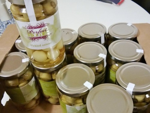 Perfect Pickles pickled onions
