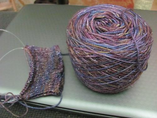 sparkle socks begun