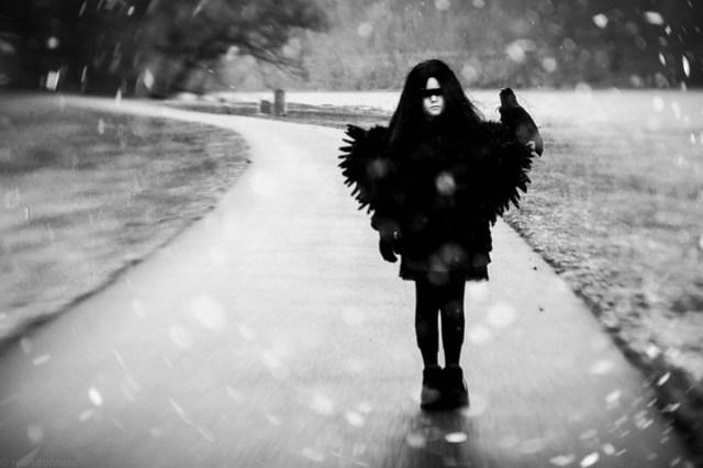 She was a crow