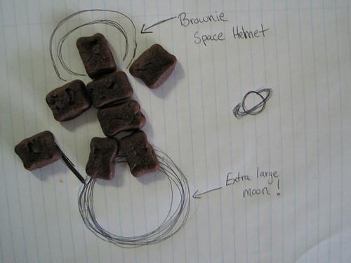 Special K Fudge Brownie Bites Brownies in Space!