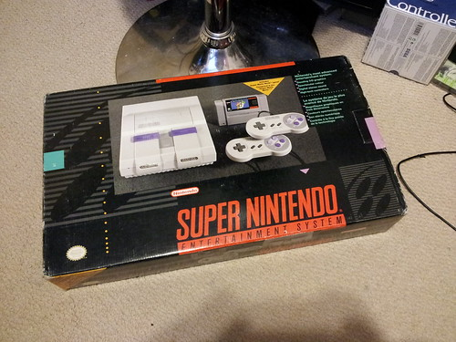 Super Nintendo - In the Box