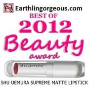EG Beauty Awards 2012 Shu Uemura Supreme Matte Lipstick