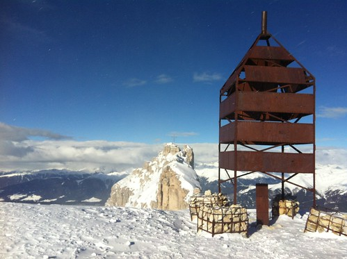 Hochebenkofel 2.905 m Blick auf Birkenkofel 2.922 m