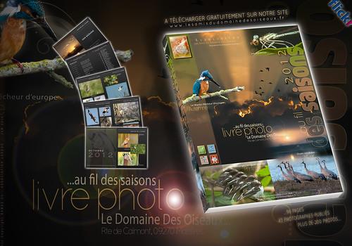 Livre Photo  ...au fil des saisons - 2012 - Au Domaine Des Oiseaux